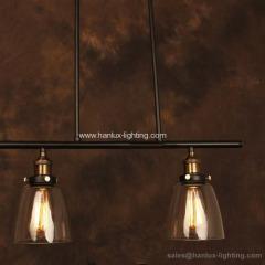 E27 metal antique lighting