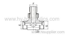 Hydraulic JIS metric male 60° CONE Adapter
