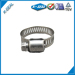 SAE Type American Type Mini Hose Clamp 5/16 wide worm gear