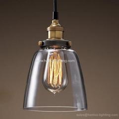 E27 metal antique bulb light