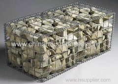 Hot Dipped fold welded gabion/welded gabion box manufacturer
