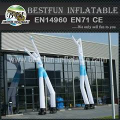 Two legs advertising inflatable sky dancer