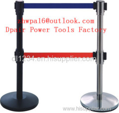 Security Crowd Control Stanchions Queue Way Barriers Posts with one Belt