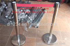 Stainless Steel Double Retractable Belt Q Up Stand