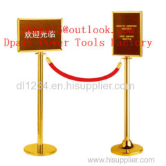 Stainless Steel A4 Frame for Retractable Belt Q Up Stand