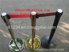self retractable belt q up stand Retractable Crowd Control Barrier