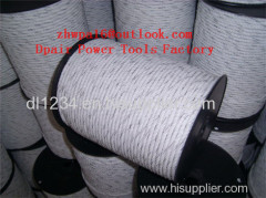 agriculture electric fence polywire Twisted rope for electric fence