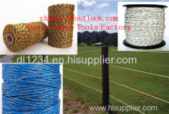 ROLL POLYTAPE ELECTRIC FENCE ENERGISER STAINLESS STEEL POLY TAPE INSULATOR