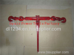 Ratchet type load binder without links or hooks specification and pictures