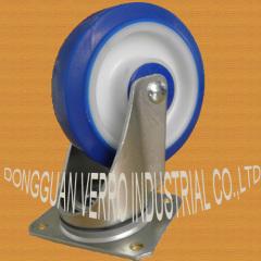 Industrial TPE/TPR swivel casters