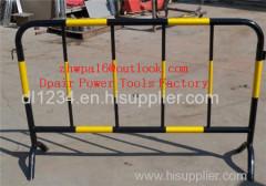 STANDARD DUTY STEEL BARRIERS Temporary Mesh Fencing