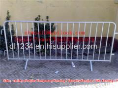 Pedestrian Temporary Fencing Temporary Pedestrian Barricade