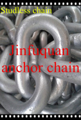 hot galvanized studless chain