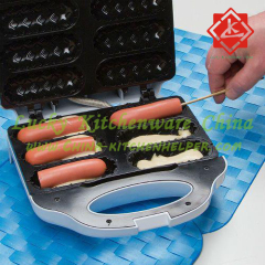 Hot Dog Sandwich Maker Electric 6 pcs hot dog waffle maker machine