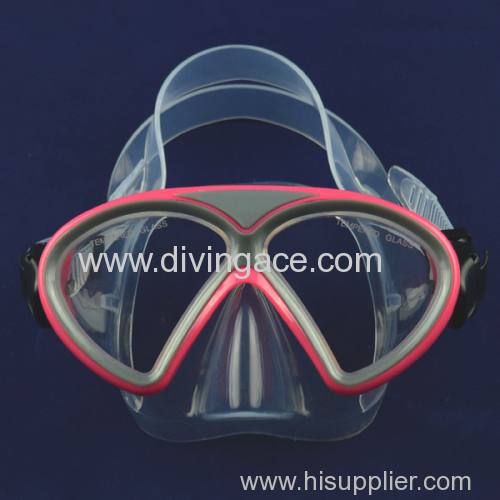 Different design full face silicone professional diving mask