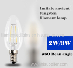 B35 LED Filament Bulbs