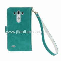 Wholesale mobile phone accessories dubai wallet cell phone case for LG g3