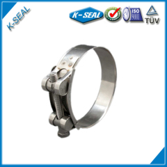 Single Bolt Heavy Duty Hose Clamp