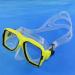 Waterproof diving mask for underwater working