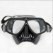Professional silicone rubber diving mask