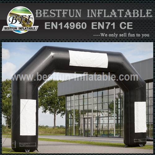 Black Inflatable Entrance Arch