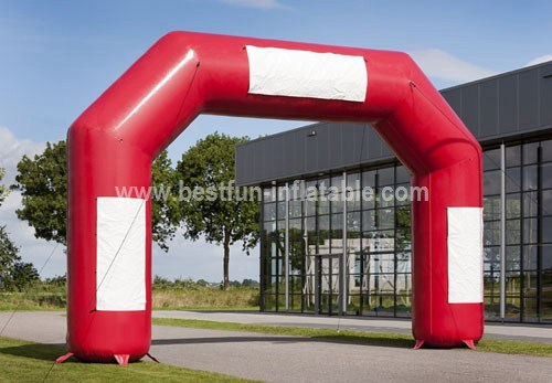 Custom advertising inflatable arch