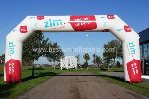 Durable waterproof outdoor event inflatable arch