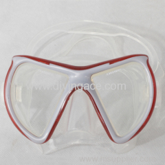 Hot sales tempered glass diving mask