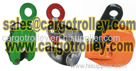 steel plate lifting clamp also named steel plate lifting equipment