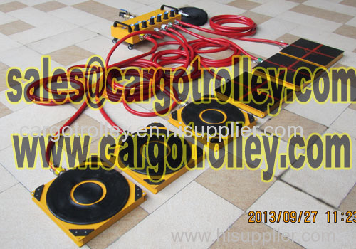Air casters price and air pallet details
