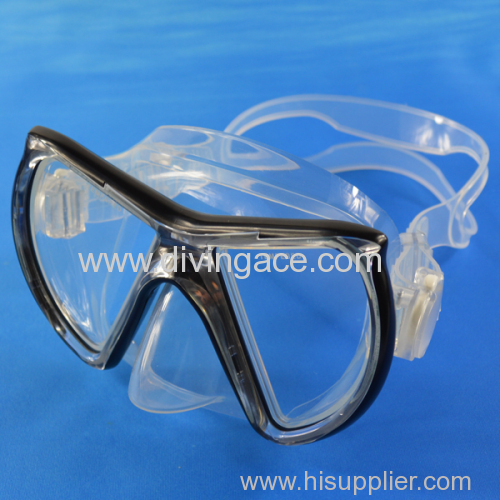 Professional diving mask/super comfortable silicone diving mask
