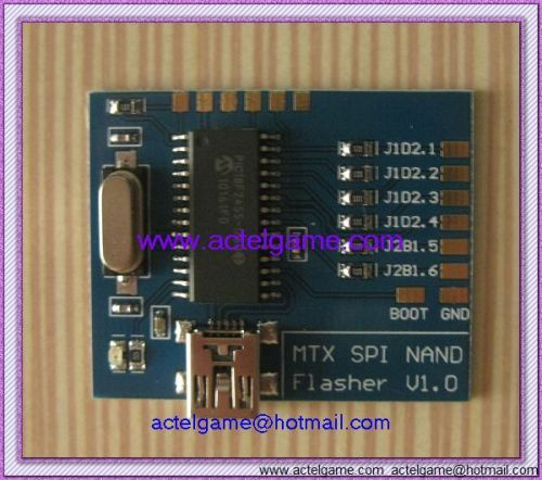 Hot for Matrix NAND Fast USB MTX SPI NAND Flasher V1.0 For xbox360 Programmer