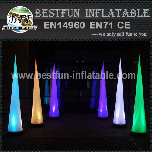 Advertising LED Columns Cone