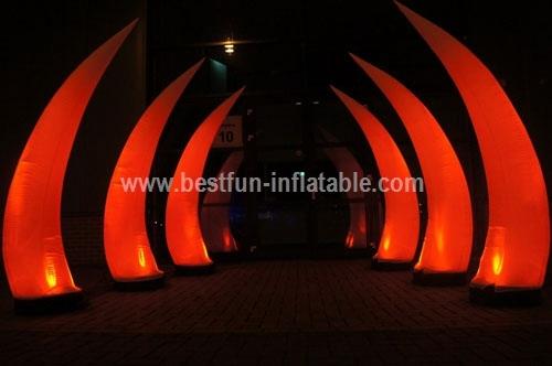 Led inflatable lighting Vertebral for sale