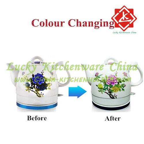 Change Colour Electric Ceramic Kettle