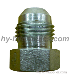 JIS gas male 60° cone adapter hydraulic fitting 4S