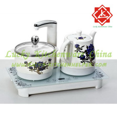 Ceramic Electric Kettle Set Tea Set