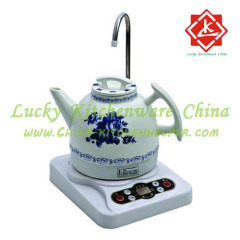 Ceramic electric kettle suit water kettle