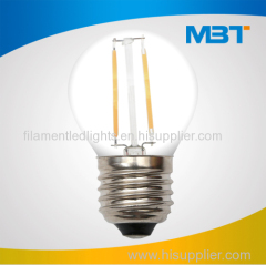 G45 Filament LED Bulbs