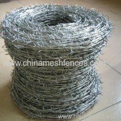 Electric/hot-dipped galvanized barbed wire