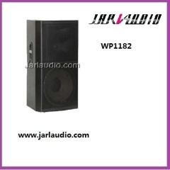PA wooden speaker system