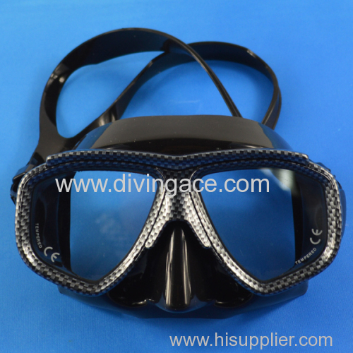 Lovely full face diving mask with PVC face mask