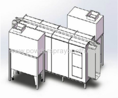 industrial Powder Coating Cabinet