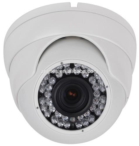"1/3"" Sony cctv camera 1200TVL 24-LED 2.8mm White Vandal-proof Dome Eyeball, 20m Infrared, D-WDR, HLM,, IP66"