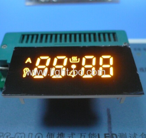 Ultra bright yellow 4 Digit 7 Segment LED Display for oven timer control