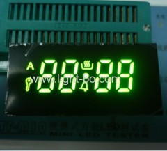 Custom super GREEN7 segment led display voor oven timer