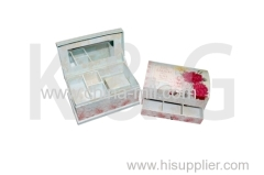 cosmetic box colorful box mirror box
