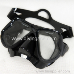 Hot sale tempered glass diving mask