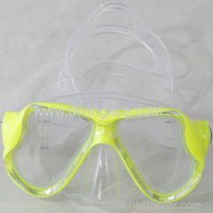 High quality tempered glass lens silicone mask