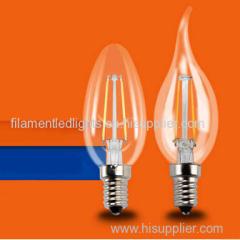 B35 led filament lamps